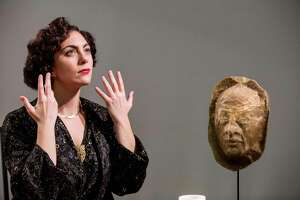 """Emily Louise Robinson in the title role of """"Frau Margot."""" The University of Houstonés Moores Opera Center earned top honors from the National Opera Associationés annual Opera Production Competition for """"Frau Margot"""" and """"Rappaccini's Daughter."""""""