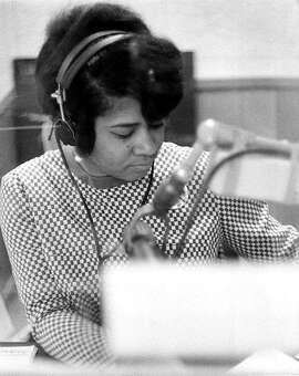 Veteran Bay Area radio personality Belva Davis