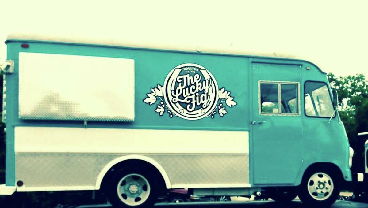 The Lucky Fig is a vintage (1954) truck that chef Luca Manfe founded on Ebay and had shipped from Portland, Ore.