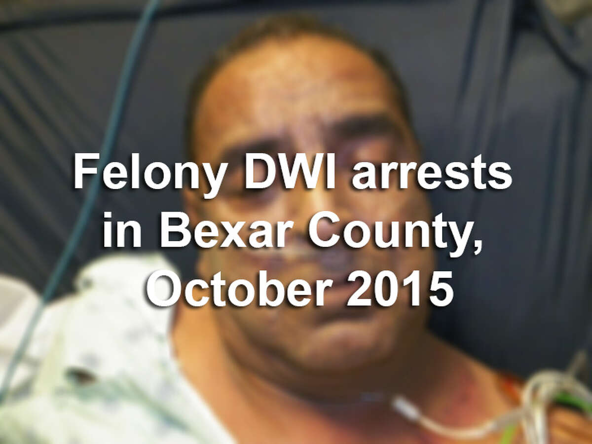 More than 50 people were arrested in Bexar County on felony drunken driving charges in October 2015. Scroll through the slideshow to see their mugshots.