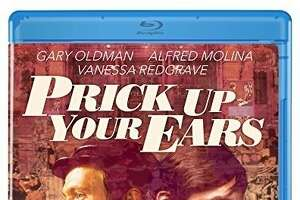 """Blu-ray cover: """"Prick Up Your Ears"""""""