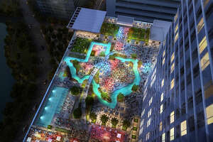 Houston hotel will include rooftop lazy river shaped like Texas - Photo