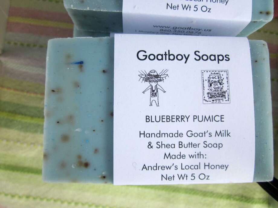 The soaps sold by East Hampton's Flat Brook Farm are made from the milk of the farm's resident goats. Dozens of scents are available – a simple and much appreciated hostess gift or stocking stuffer. You can also find Connecticut-made soaps at Goatboy Soaps in New Milford, Nod Hill Soap in Wilton and Pure Naked Soap in Colchester. Photo: Megan Spicer