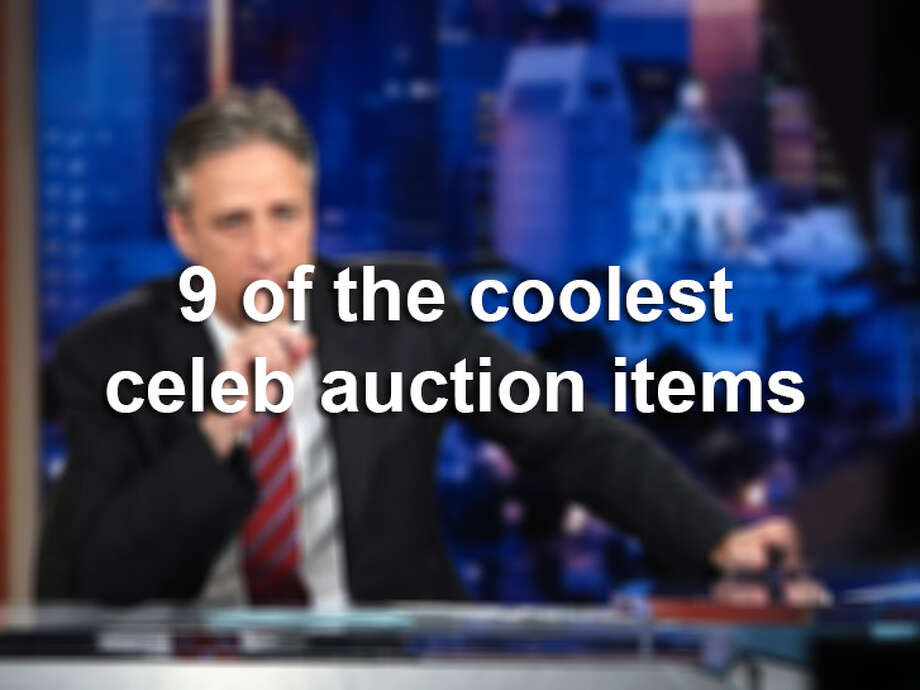 Click through the gallery to see some of the coolest celeb memorabilia auctioned off through the years.
