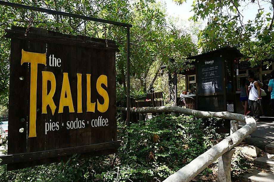 The Trails Cafe is a popular snack shack located in Griffith Park, and a starting point for hiking and biking. Photo: Kimberley Lovato, Special To The Chronicle