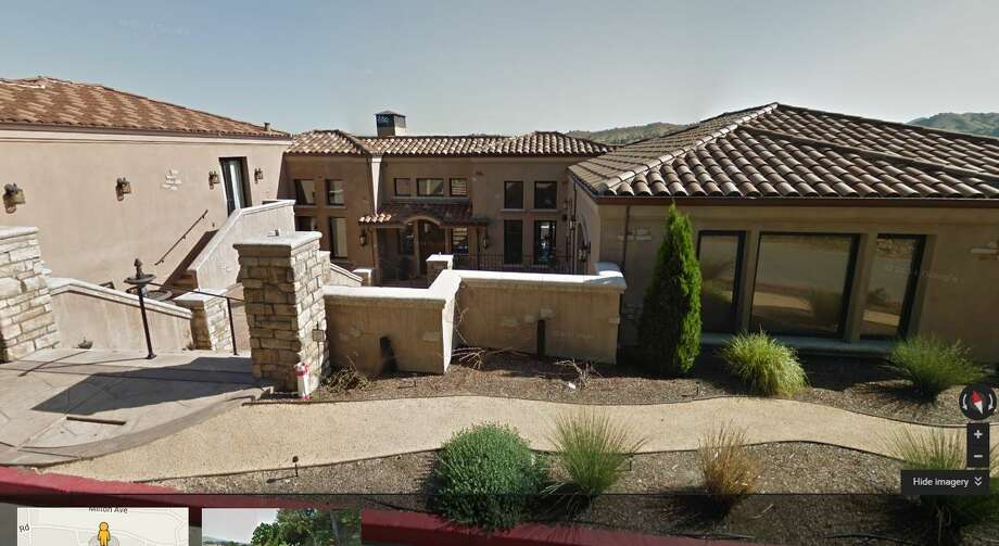 This Walnut Creek house was bought by the Warriors' Stephen Curry for $3.2 million. (Google Street)