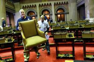 It's the Assembly chair brigade - Photo