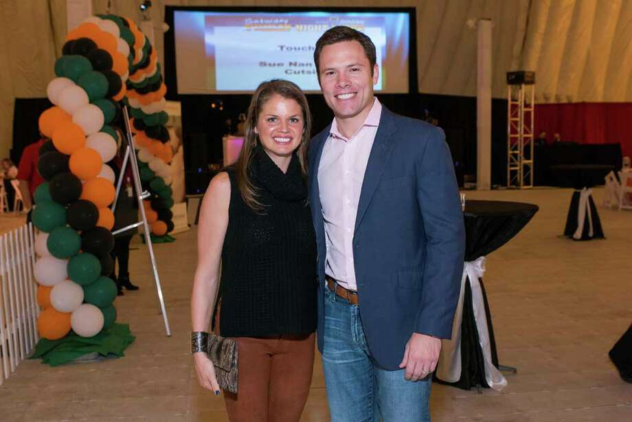 Abbi and Rob Antablin at the DePelchin Children Center's Saturday Night Lights /  2015 Michelle Watson. All rights reserved.