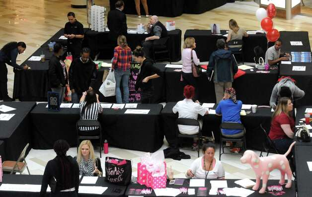 Crossgates held its fourth annual mall-wide holiday job fair on Tuesday Sept. 29, 2015 in Guilderland, N.Y.  (Michael P. Farrell/Times Union) Photo: Michael P. Farrell / 00033513A
