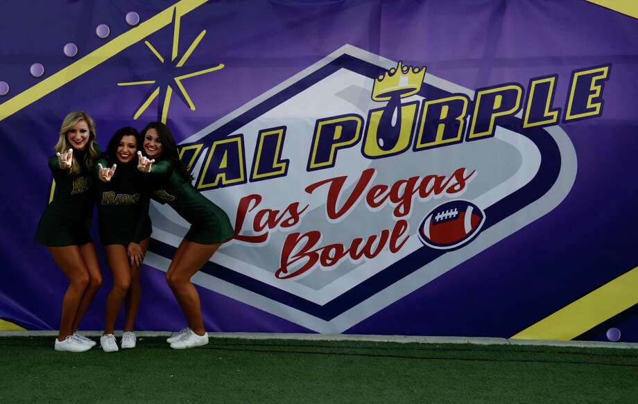 Royal Purple Las Vegas BowlSaturday, Dec. 19 (Las Vegas, Nev.)MWC or BYU vs. Pac-12Turns out, Royal Purple is a brand of synthetic motor oil. We're from Houston, so in these here parts, Royal Purple sounds like something that might end up as a drink concoction in a Styrofoam cup. And, the game's in Las Vegas, so that would make sense as well. Photo: Andy Cross, Getty Images / Copyright - 2014 The Denver Post, MediaNews Group.