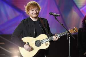 Ed Sheeran tweets from 'Bridget Jones' movie set - Photo