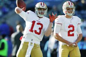49ers QB Thompson makes quick climb from scout team to second-string - Photo