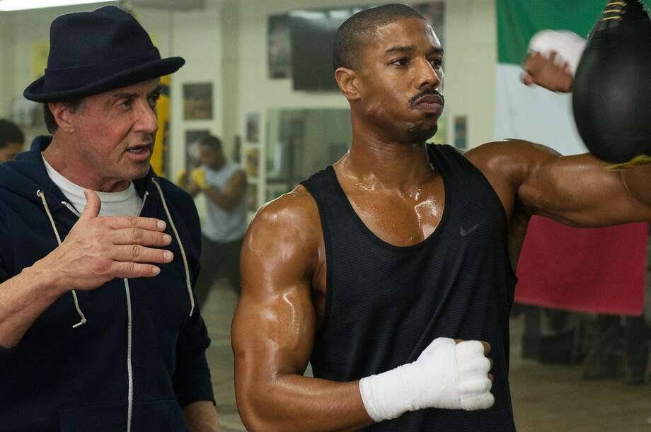 CREEDNow playingWhy you should see it: Director Ryan Coogler knows what Sly Stallone has always known: It's not about the fights. It's about making an audience feel deeply about the people involved in the fights. See the full review.Rating: Mick LaSalle - 5 stars. Rotten Tomatoes - 94 percent. Photo: Barry Wetcher, Associated Press