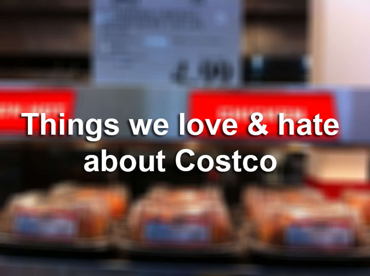 We love Costco size deals and samples but the getting there part can leave something to be desired. Push ahead for 34 things we love & hate about Costco.