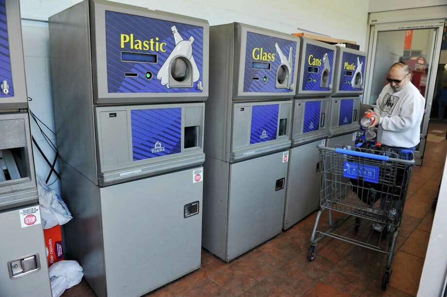 A view of the bottle return area at the Wal-Mart Supercenter off of Route 4 on Tuesday, Nov. 24, 2015, in Rensselaer, N.Y. (Paul Buckowski / Times Union) Photo: PAUL BUCKOWSKI / 10034422A