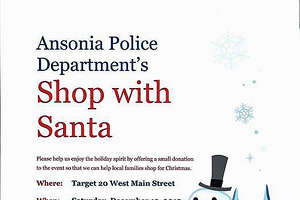 Ansonia PD to host 'Shop with Santa' - Photo