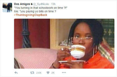 Thanksgiving Clapbacks Is The Most Savage Trend On Social Media
