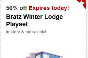 Today's 50% off Target Cartwheel toy deal: Bratz Winter Lodge Playset - Photo