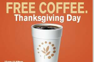Get a free coffee at Cumberland Farms on Thanksgiving - Photo