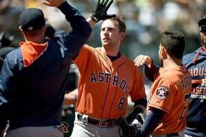 Report: Astros trade Jed Lowrie to Oakland - Photo
