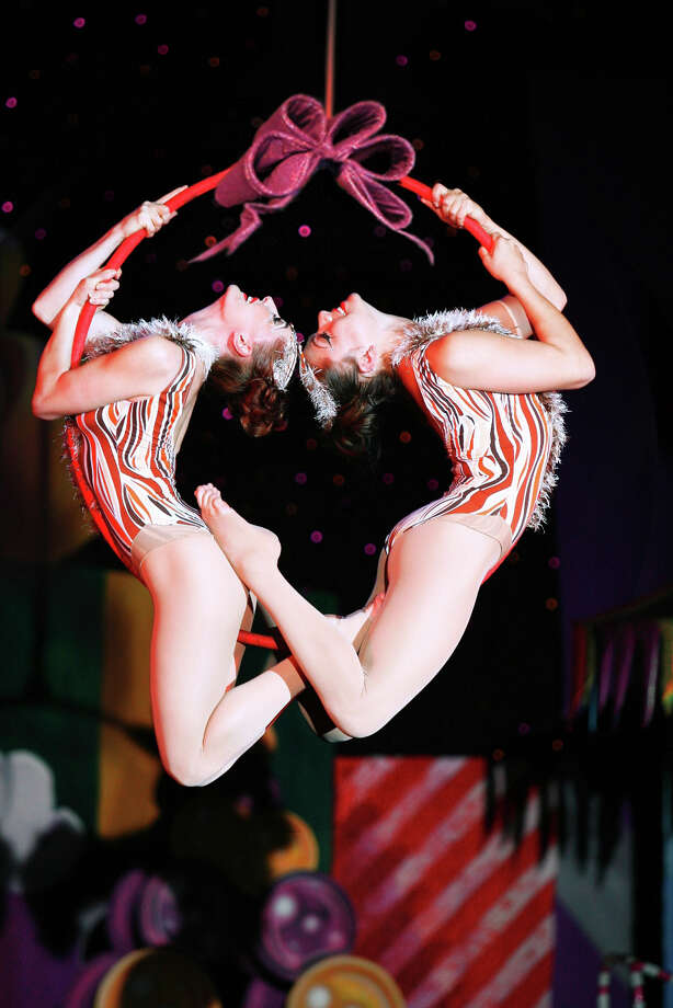 """Cirque Dreams Holidaze"" lights up the holiday season with a unique and colorful family show on Sunday, Nov. 29, at the Palace Theater in Waterbury, followed by a second show on Monday, Nov. 30. Photo: Contributed Photo / The News-Times Contributed"