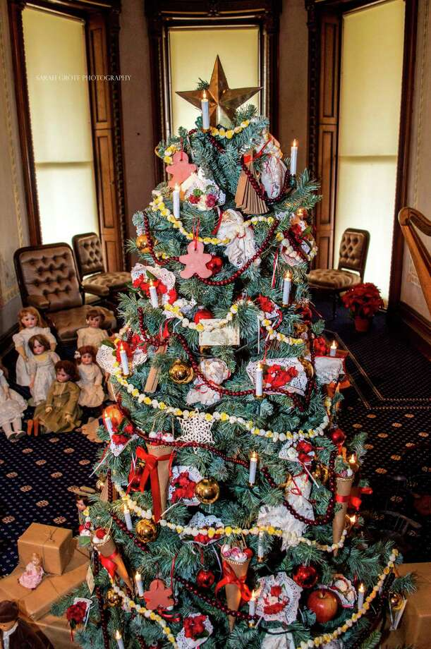 The Lockwood-Mathews Mansion Museum in Norwalk will open for holiday tours on Friday, Nov. 27. Photo: Contributed Photo