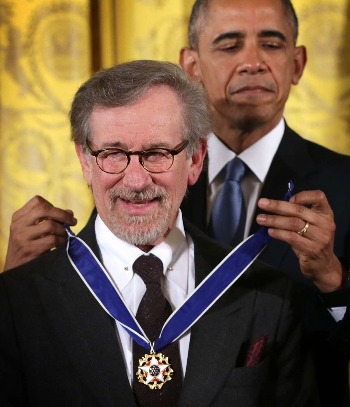 """Steven Spielberg His movie """"Bridge of Spies"""" is nominated for an Academy Award for best picture."""