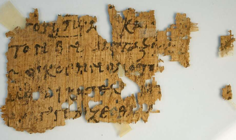 While perusing pages of antique auctions on eBay, a University of Texas professor was surprised to spot a rare, ancient fragment of the Greek New Testament inconspicuously selling for only $99. Photo: Provided By Geoffrey Smith, Via The University Of Texas At Austin