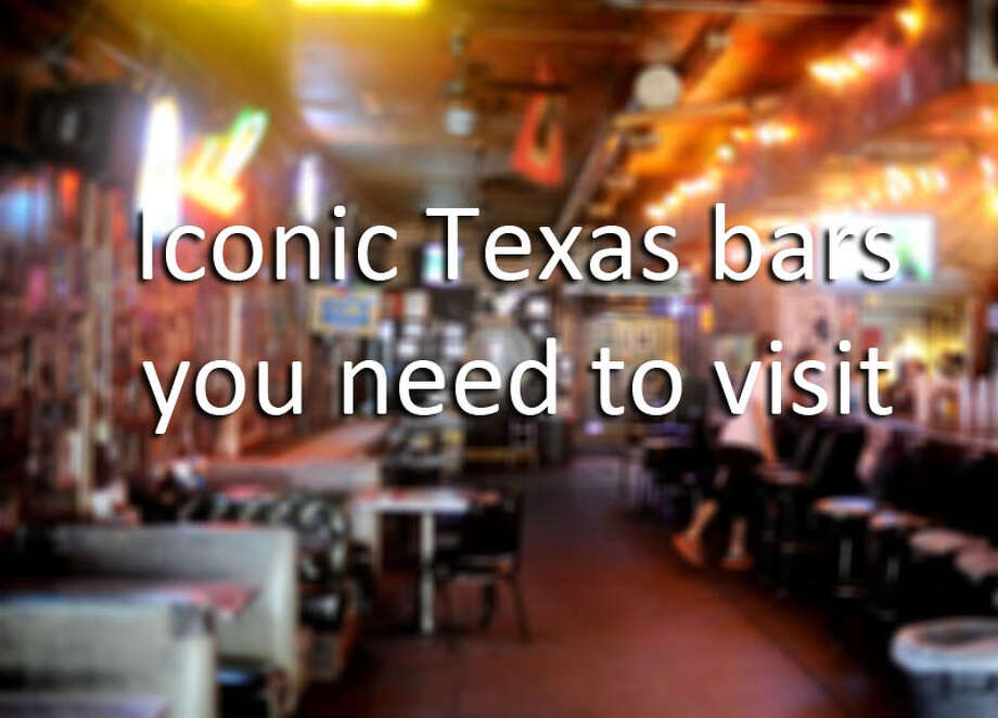 Click to see iconic bars in Texas.