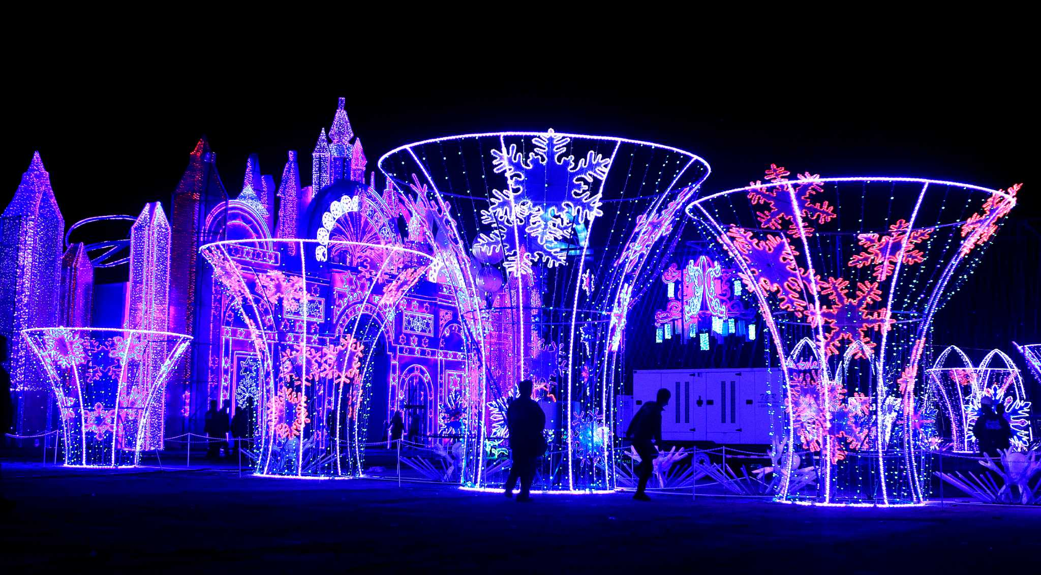 Magical Winter Lights brings world to evening festival Houston