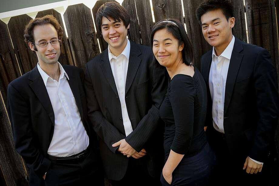The Telegraph Quartet will also play Haydn and Erwin Schulhoff. Photo: Telegraph Quartet