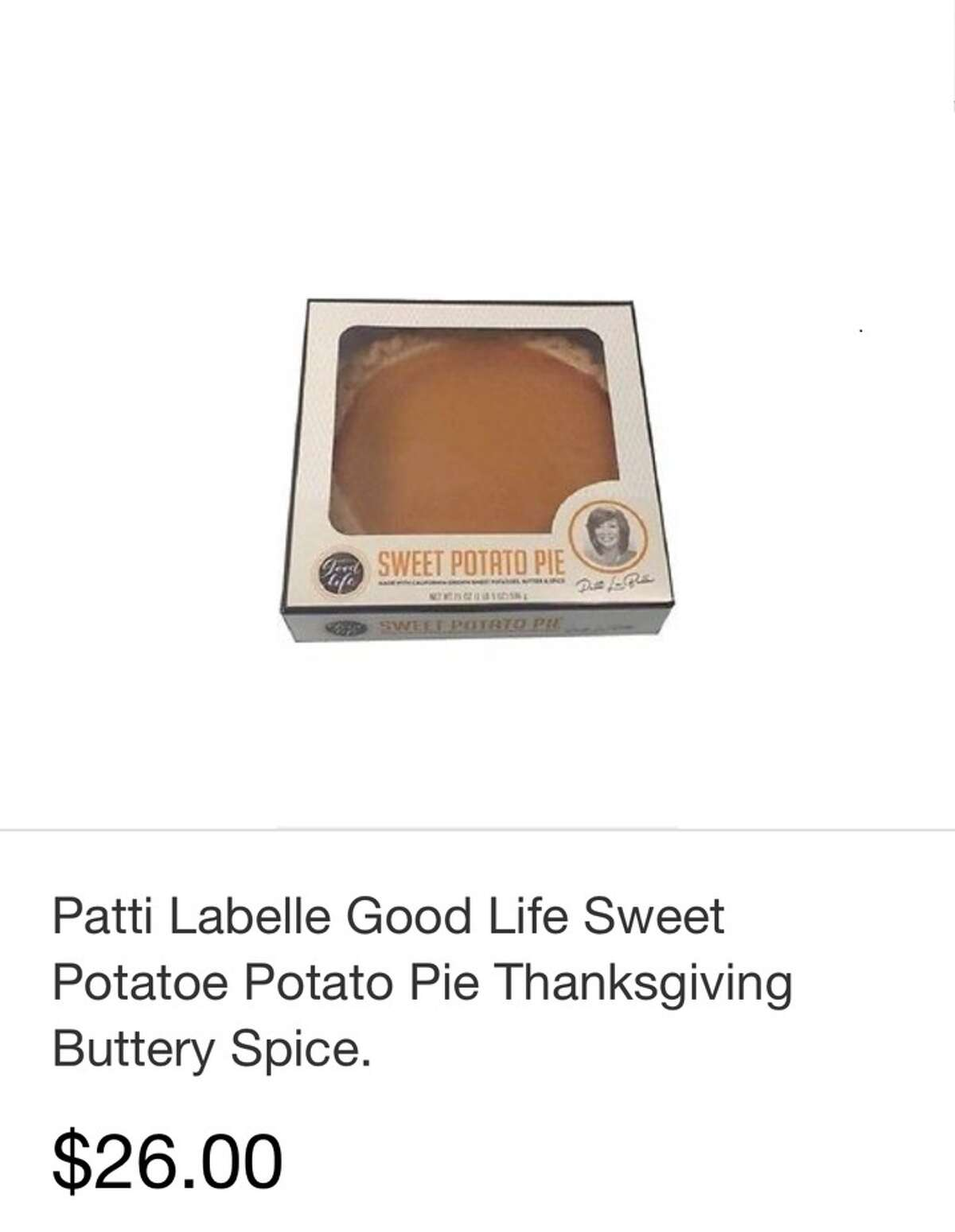 Patti LaBelle's pies are going for high prices on eBay.