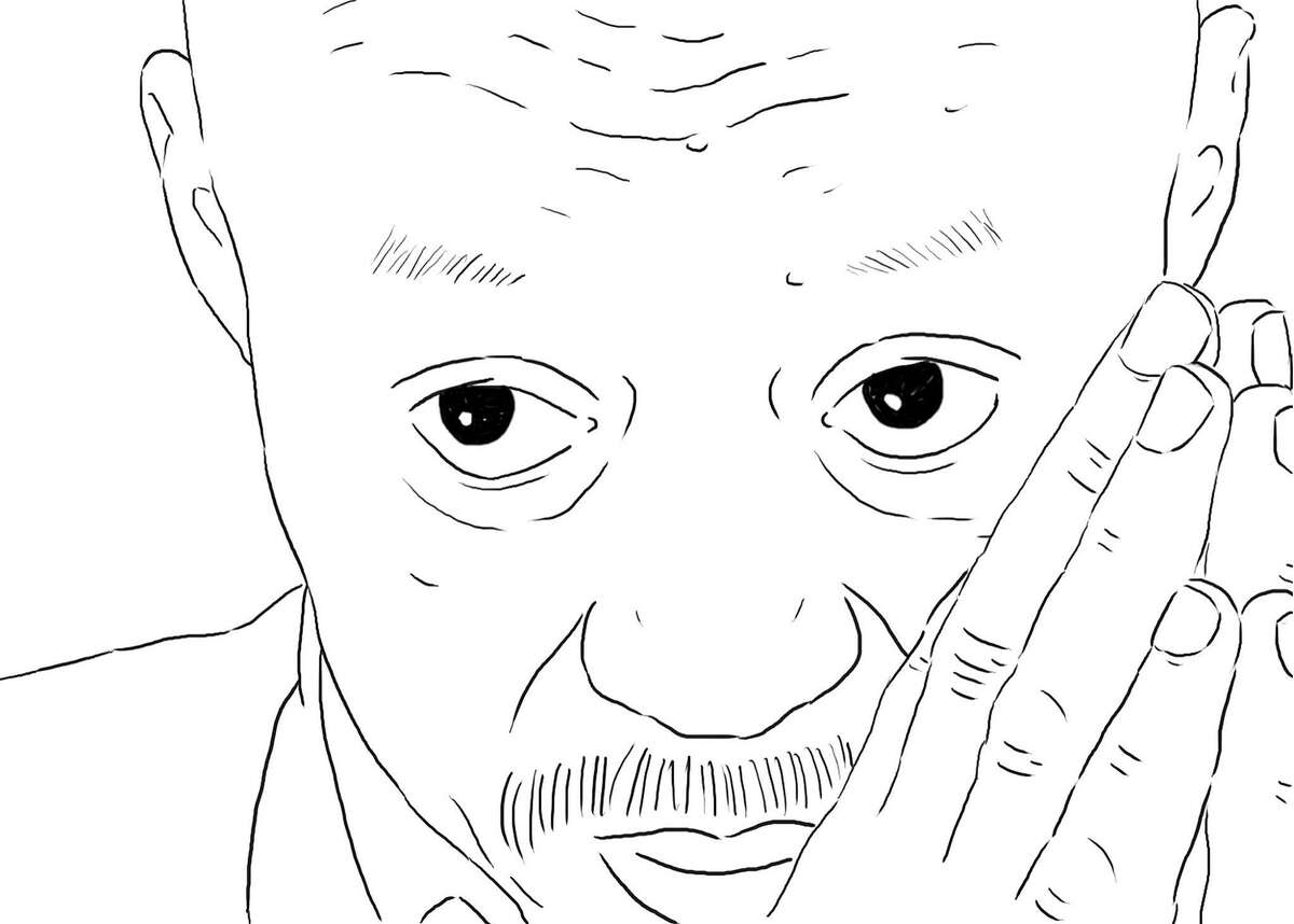 A still from the animated documentary