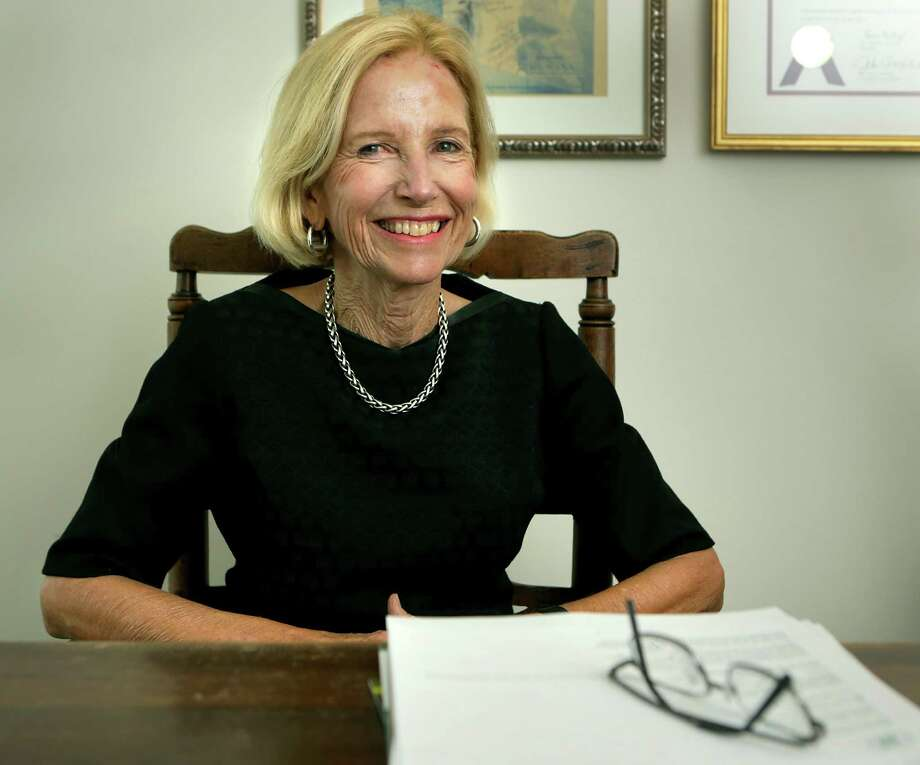 Phyllis Browning, chairman and CEO of Phyllis Browning Co., in her Broadway Street office on Nov. 6, 2015. Photo: Bob Owen /San Antonio Express-News / San Antonio Express-News