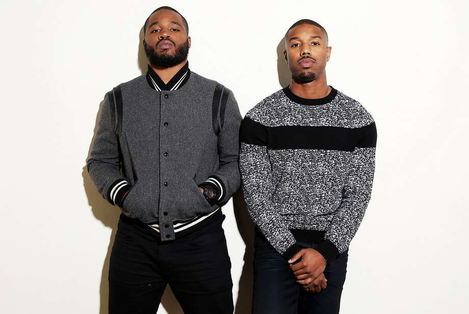 "Oakland native Ryan Coogler (left) directed actor Michael B. Jordan in ""Creed,"" which continues the ""Rocky"" series. Photo: Matt Sayles, Associated Press"