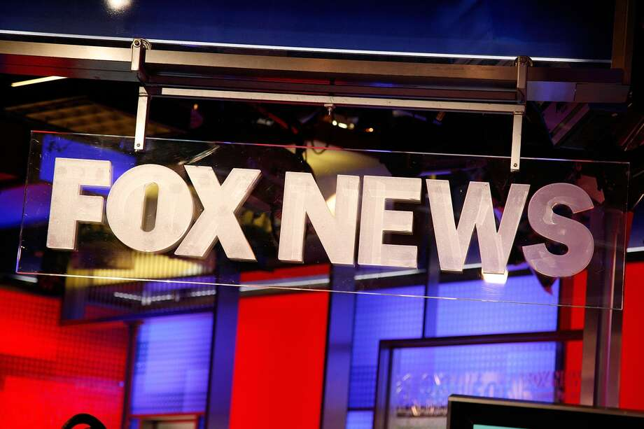 The FOX News logo at FOX Studios on August 16, 2011 in New York City. (Photo by Andy Kropa/Getty Images)