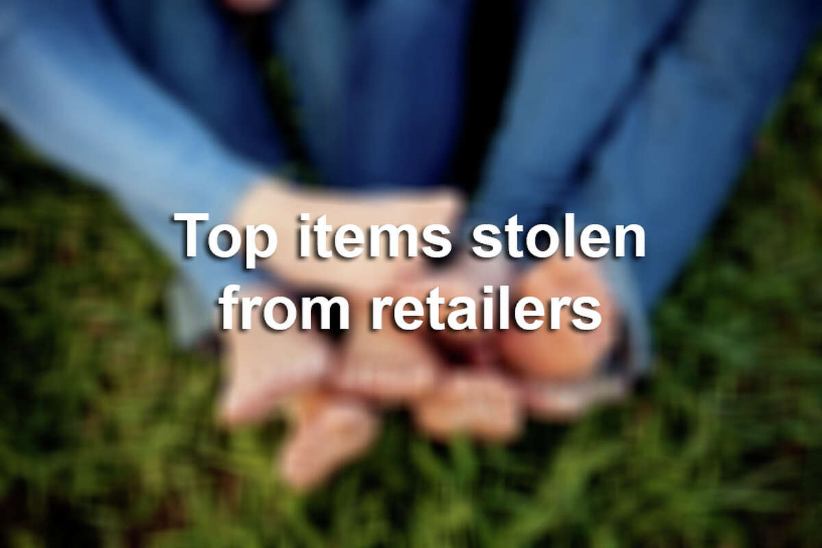Click through the slideshow to see a collection of the most commonly stolen items from retailers by crime gangs.