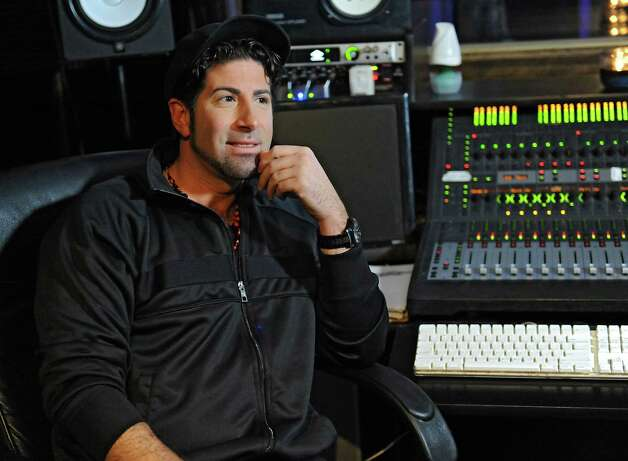 "Record producer Eddie ""Angelikson"" Cascio is interviewed at the Recording Studio of Albany on Tuesday, Nov. 17, 2015 in Albany, N.Y. He produced some tracks for the final album by Michael Jackson and was friends with him growing up. (Lori Van Buren / Times Union) Photo: Lori Van Buren / 00034281A"