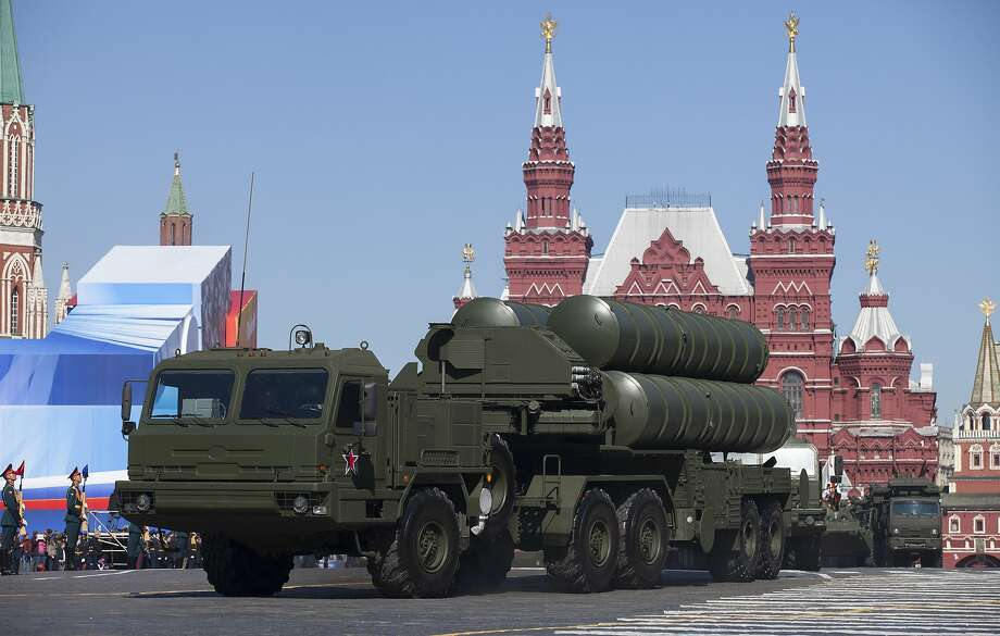 Russian S-400 air defense missile systems will be deployed after the downing of a Russian jet. Photo: Alexander Zemlianichenko, Associated Press