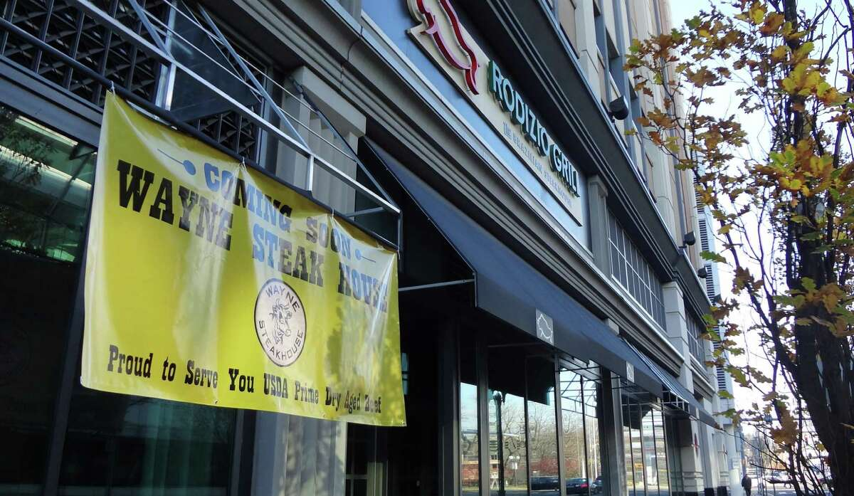 Wayne Steak House has hoisted its banner on Broad Street in Stamford, where Rodizio Grill lowered its own, helping fill a portion of a retail strip that has proven stubbornly resistant to landing new tenants.