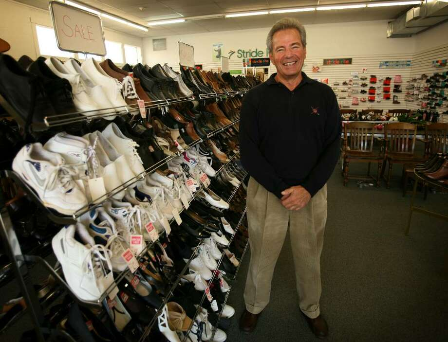 Monroe Kohn, owner of Hubbell Brothers shoes, is closing his store after decades of business, marking the end of an era in Derby. Photo: Brian A. Pounds / Connecticut Post
