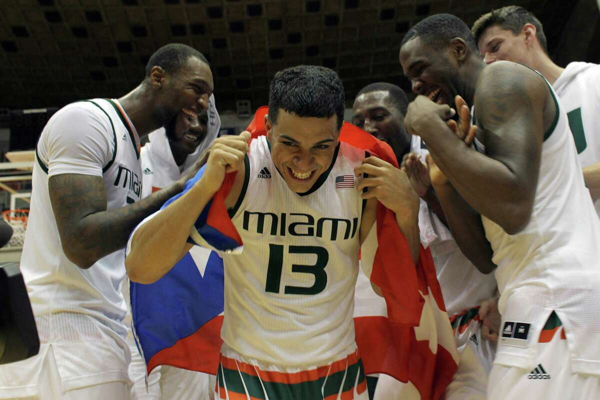 Four teams to watchMiami Last week was a good one for the Hurricanes as they beat No. 16 Utah and No. 22 Butler and jumped into the rankings. Undefeated Miami is led by former Bellaire standout Sheldon McClellan, who scores 17.4 points per game.
