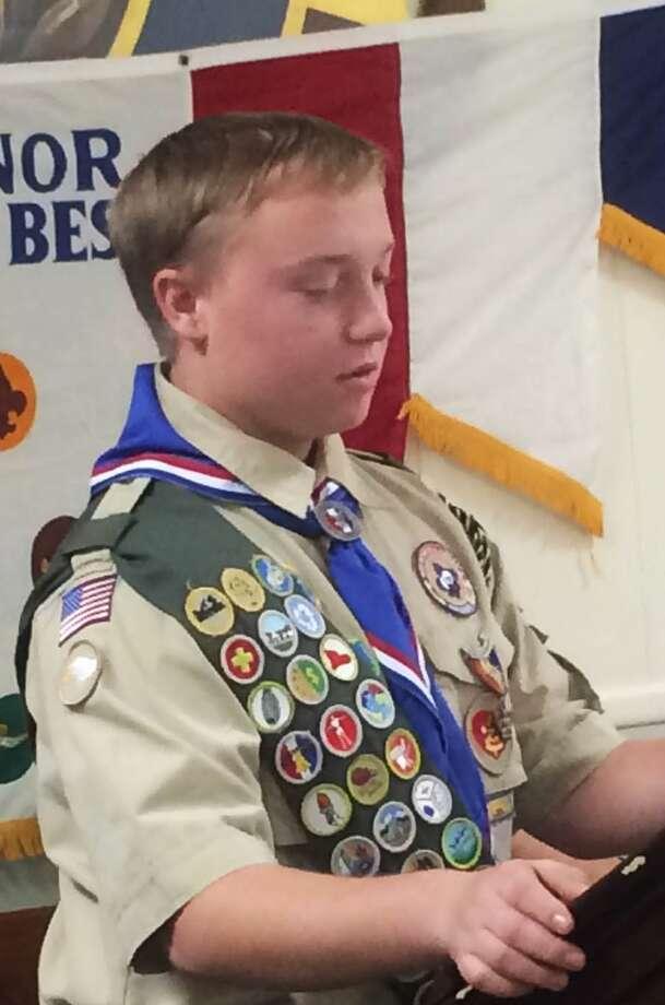 Connor McCagg, Eagle Scout