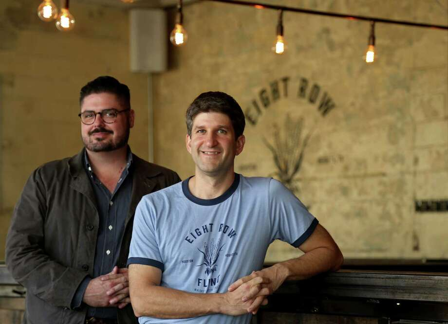 Co-owners Morgan Weber, left, and Ryan Pera, chef, at Eight Row Flint Wednesday, Nov. 25, 2015, in Houston, Texas. Photo: Gary Coronado, Houston Chronicle / © 2015 Houston Chronicle