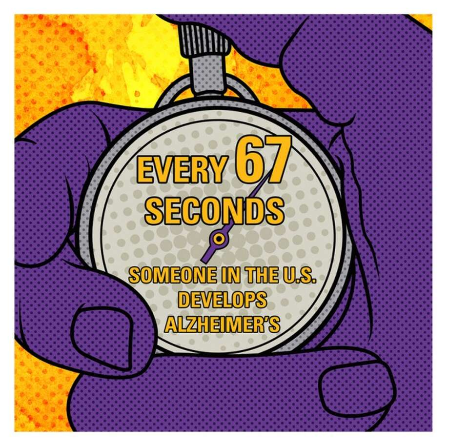 The Alzheimer's Association shows the facts about the disease.  Keep clicking to learn more about this fatal illness.  Photo: Alzheimer's Association