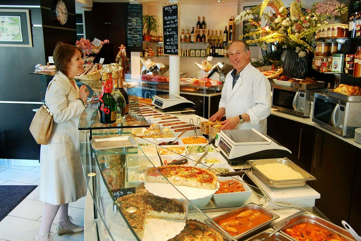 A classy deli is a fun stop on many Parisian food tours.