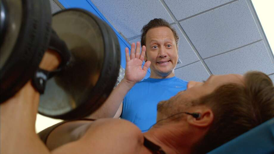 "The real Rob Schneider in oddly derivative ""Real Rob."" Photo: Netflix"