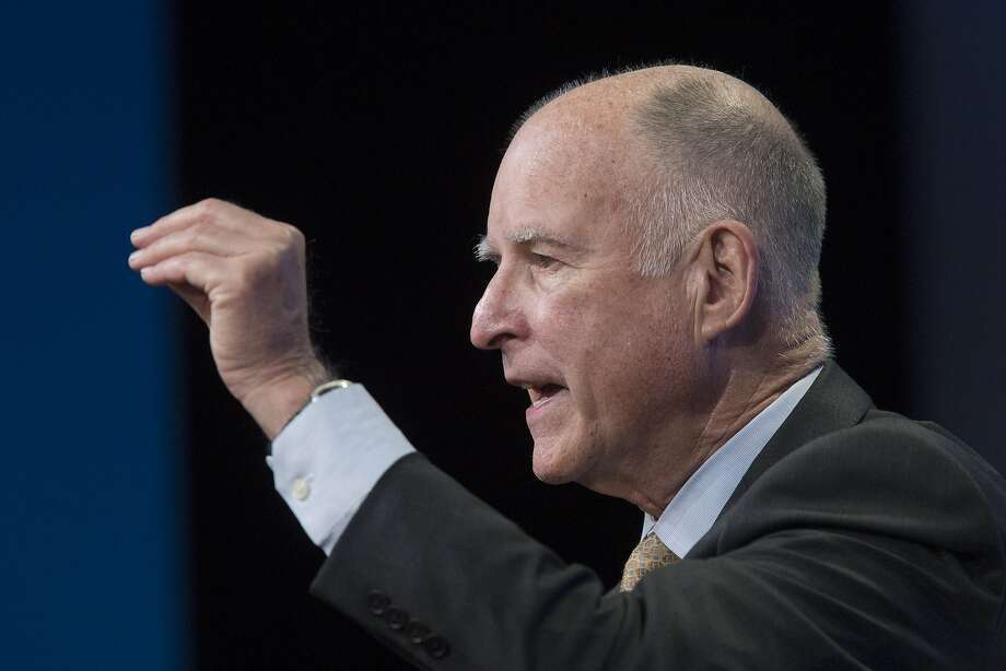 California governor Jerry Brown is scheduled to join leaders from more than 120 nations at the Paris Climate Conference. Photo: David McNew, Getty Images