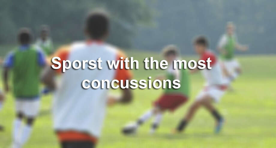 Sports with the most concussions.
