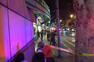 S.F.'s 5th and Mission garage closed after nearby shooting - Photo
